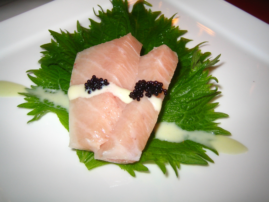 World's Most Expensive Foods: otoro sashimi