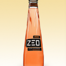 Zeo fizzy drink bottle.