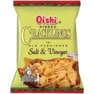 Oishi salt & vinegar cracklings.