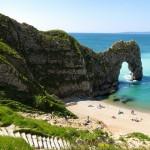 The stunning Jurassic Coast of Dorset, England.