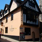 Exterior of The Belgian Monk, a 17th-century pub in Norwich, UK.