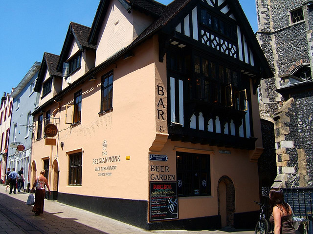 The Belgian Monk: The Best Value Pub Lunch in Norwich