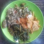 Plate of food from Depot Dapur Canggu.