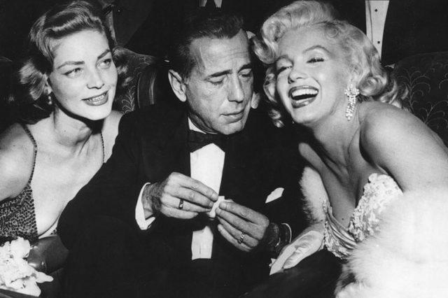 Bogart, Bacall, Monroe